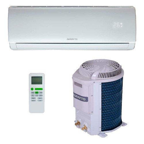 Ar-Condicionado + Instalação Split HW Agratto Eco Top 12.000 Btus Quente e Frio 220V