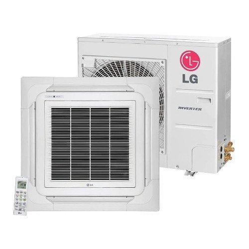 Ar Condicionado Split Cassete Inverter LG 31.000 BTUs 220V Quente e Frio