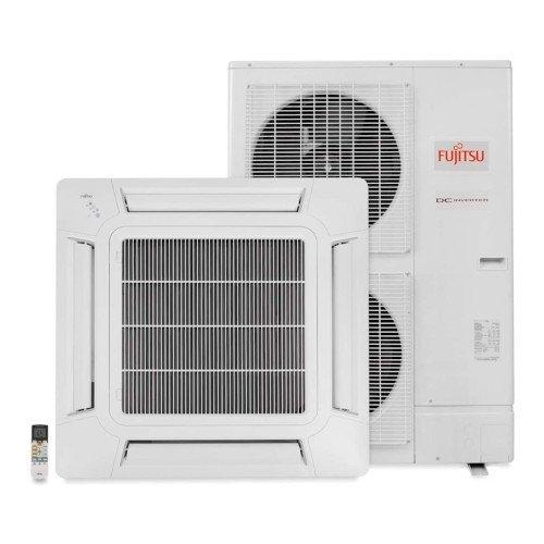 Ar Condicionado Split Inverter Cassete Fujitsu 45000 Btus Quente e Frio 220v