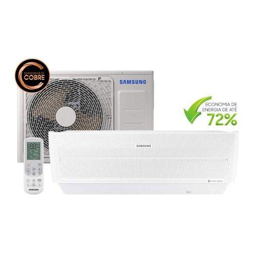 Ar Condicionado Split Inverter Samsung Wind Free Quente e Frio High Wall 12000 BTUs 220v