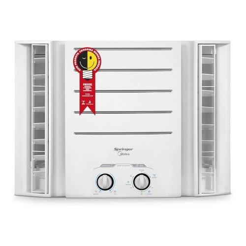 Ar Condicionado de Janela 10.000 BTUh Quente e Frio Mec 220V Springer, Midea, Branco