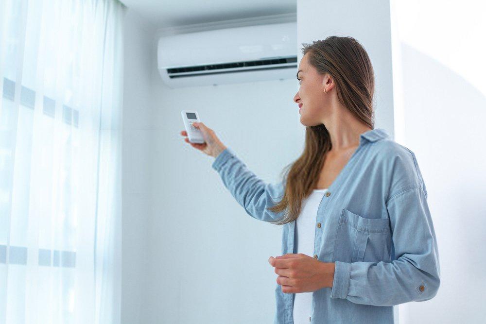 ar condicionado quente e frio